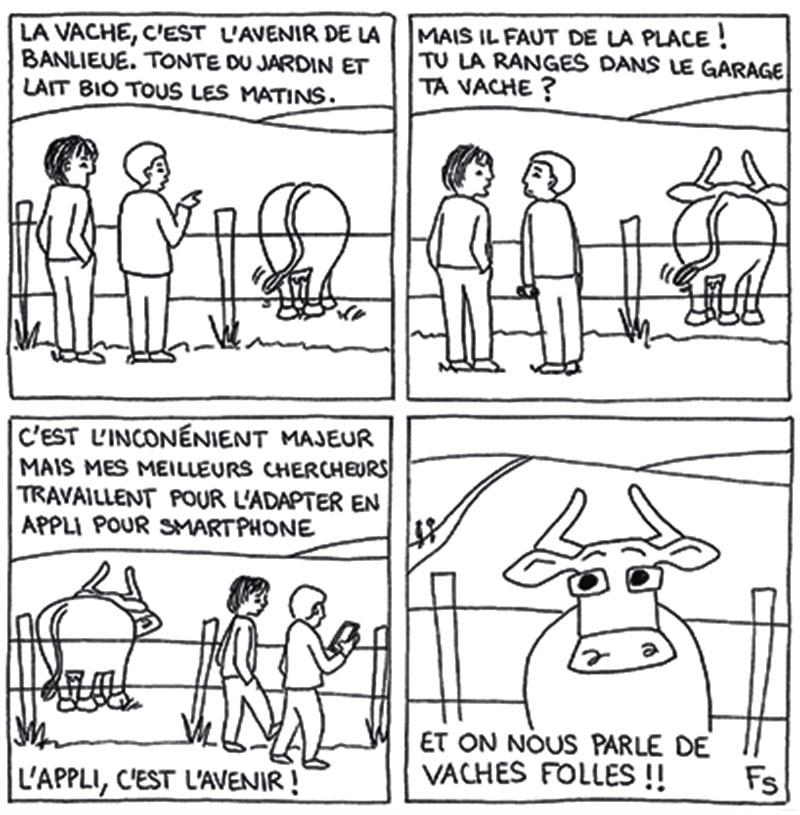 La petite histoire de la vache Mirabelle